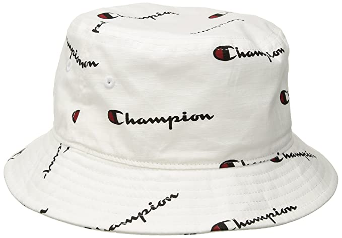 6b61f8a8 Image Unavailable. Image not available for. Colour: Champion Men's Life Bucket  Hat, White ...
