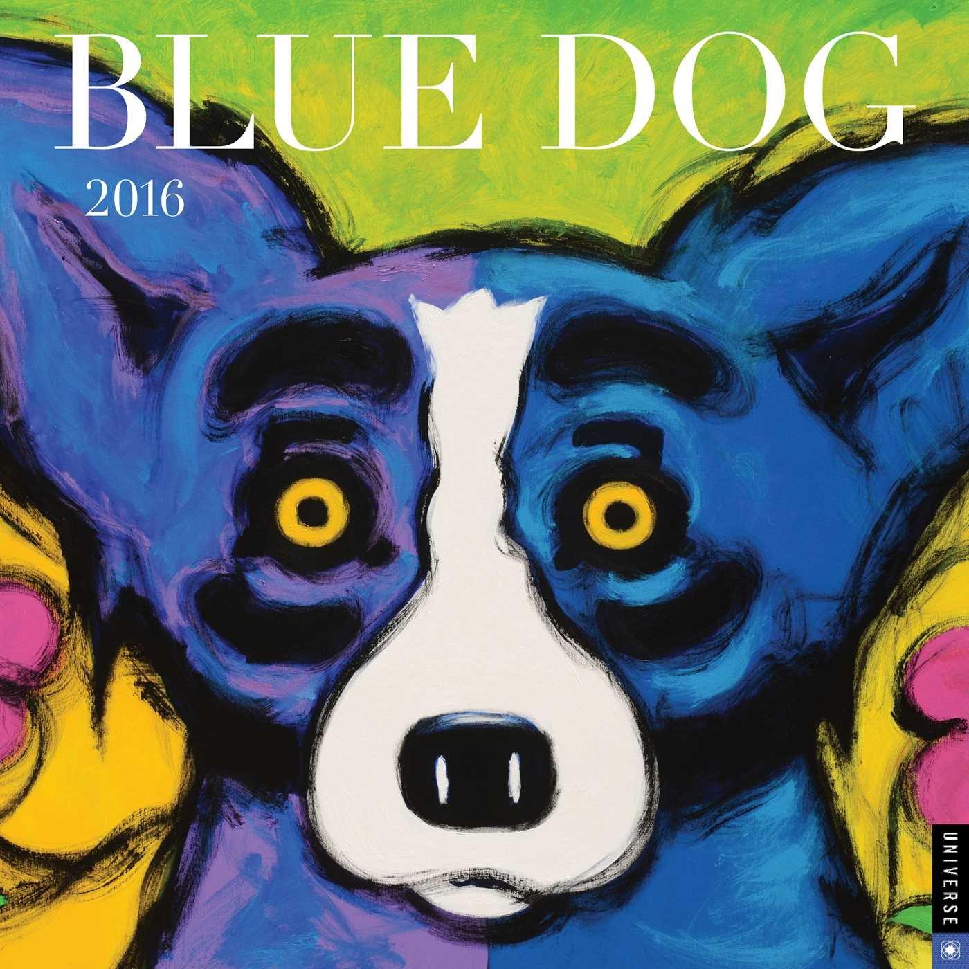 Read Online Blue Dog 2016 Wall Calendar pdf epub