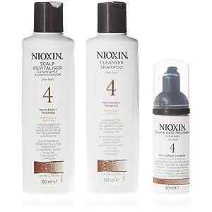 Nioxin THS 4 Champú + Acondicionador + Mascarilla - 1 Pack
