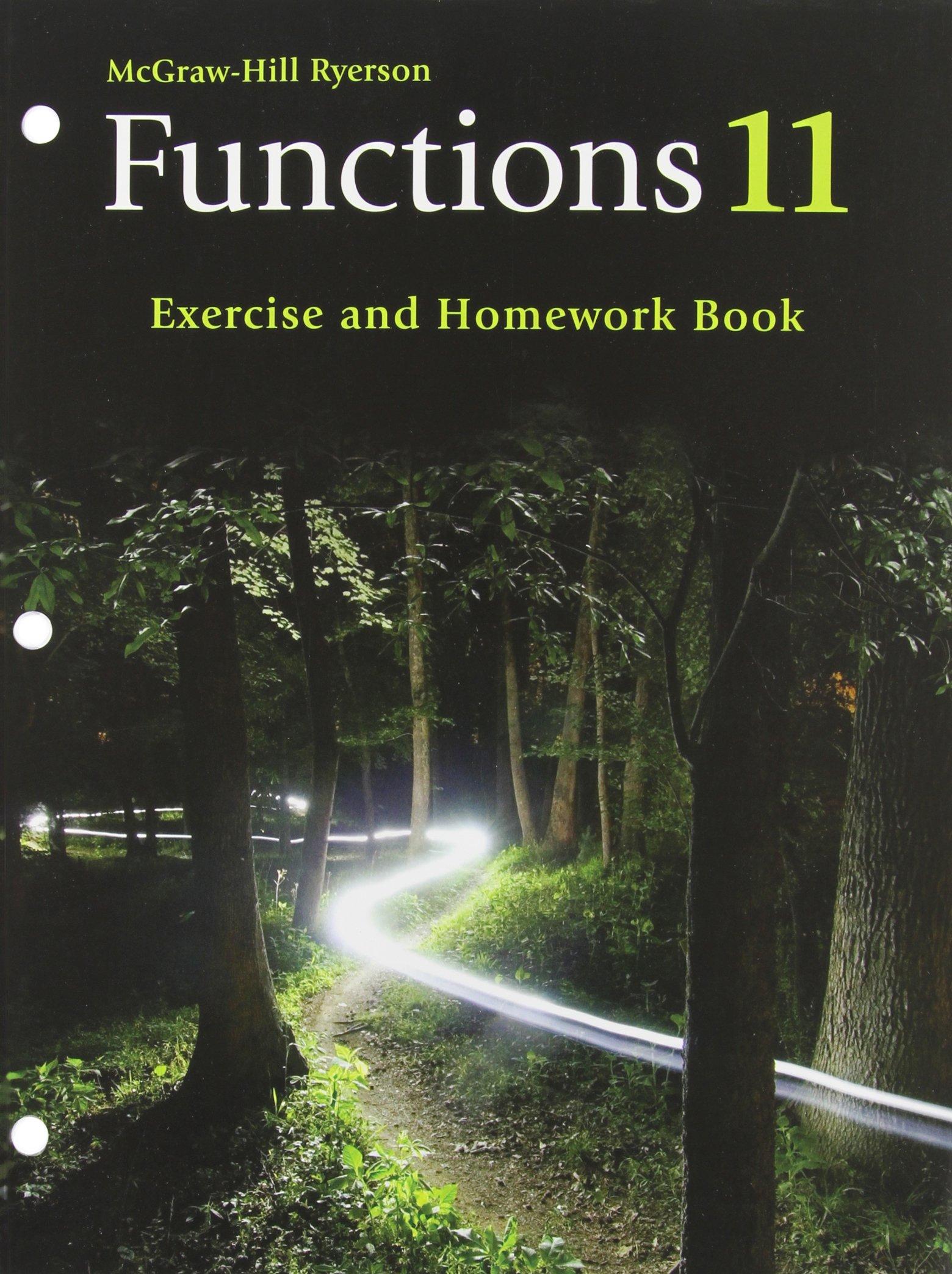 Functions 11 Exercise and Homework Book: Antonietta Lenjosek
