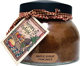 product image for A Cheerful Giver Maple Syrup Pancakes Mama Jar Candle, 22-Ounce, 22oz