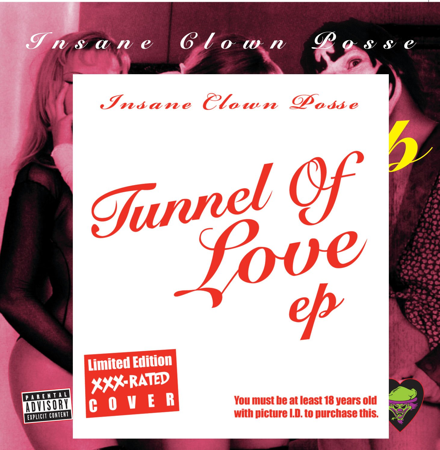 CD : Insane Clown Posse - Tunnel of Love (XXX Edition) [Explicit Content] (CD)