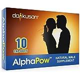 AlphaPow Integratore Energetico Maschile Naturale ad Alta Intensità