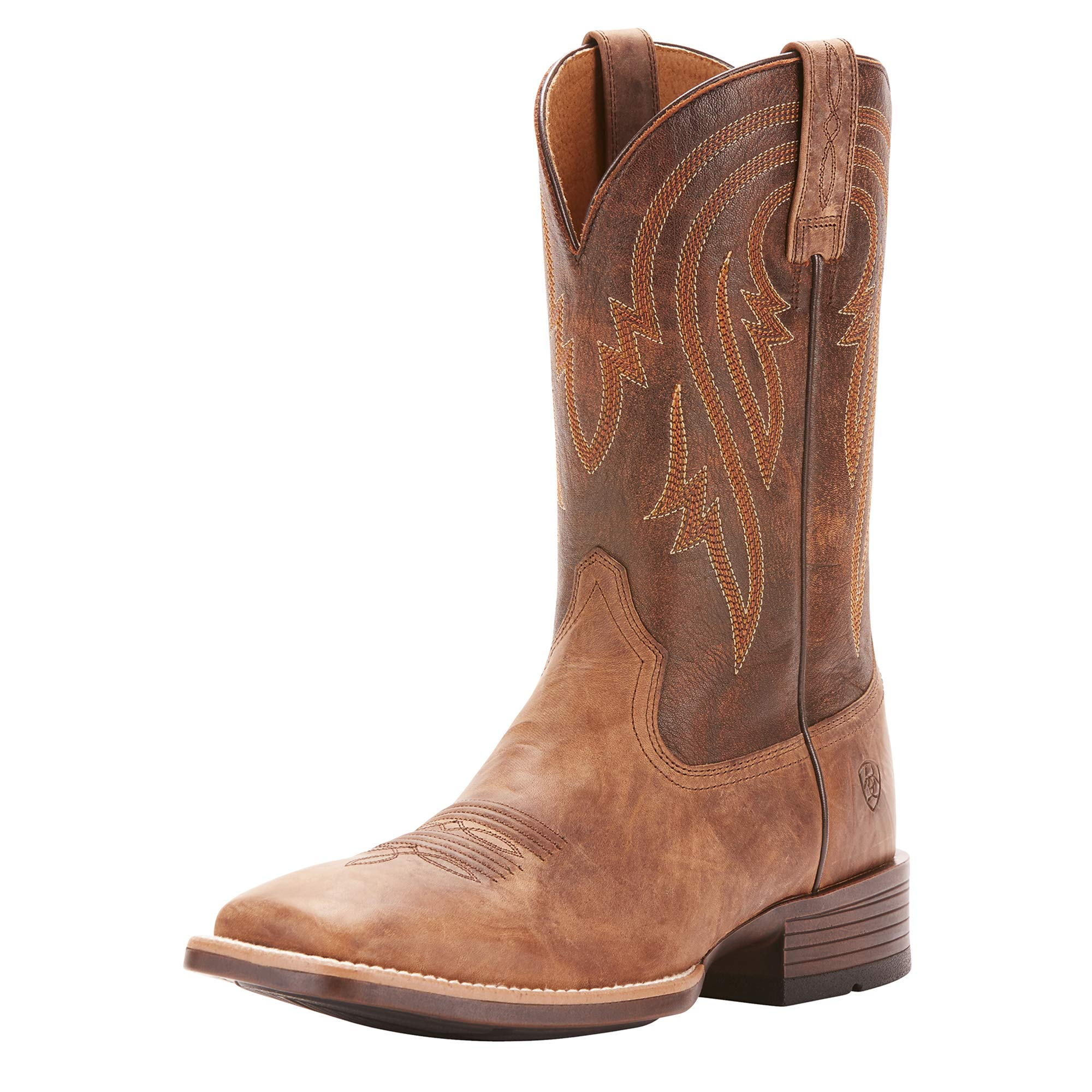 Ariat Men's Plano Western Boot, Tannin, 11 D US by ARIAT