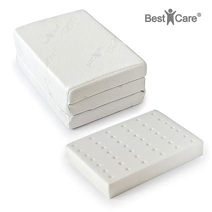 BestCare ® - Hecho en la UE, Premium Colchón cama para viaje, altura total