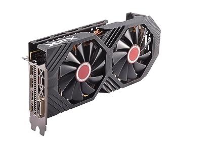 XFX Radeon RX 580 GTS Black Edition 1405MHz OC+, 8gb 256bit GDDR5, DX12 VR  Ready, Double Dissipation, Dual BIOS, 3xDP HDMI DVI, PCI-E AMD Graphics