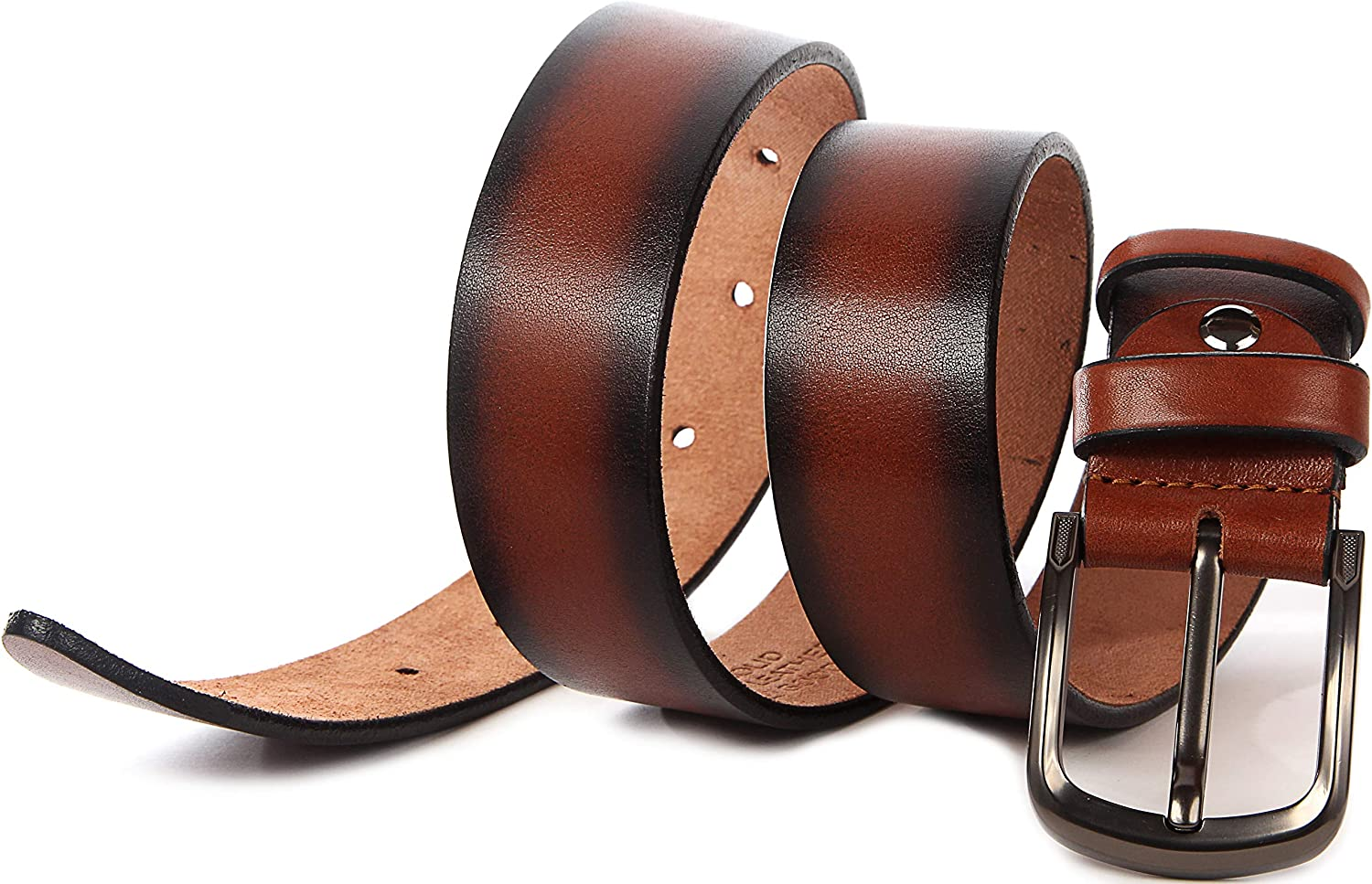 Full Grain Heavy Duty Durable and Strong Mens Leather Belt