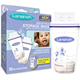 Lansinoh 20435 Breastmilk Storage Bags, 25-Count Box
