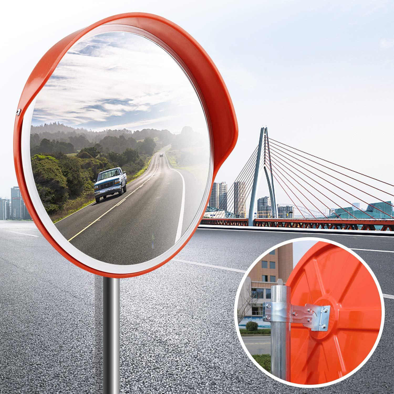 Speed Sécurité miroir convexe Surveillance panoramique miroir routier extérieur 60cm Polycarbonate acrylique Forever Speed