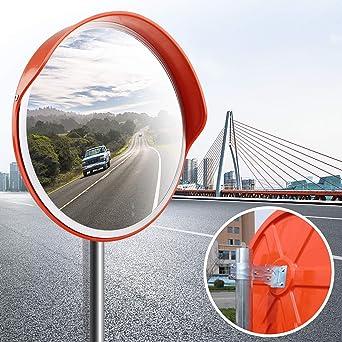 16e2276fc2 Forever Speed Espejo de Seguridad kasse policarbonato Acrylic Convexo  Panorámico Espejo 30cm