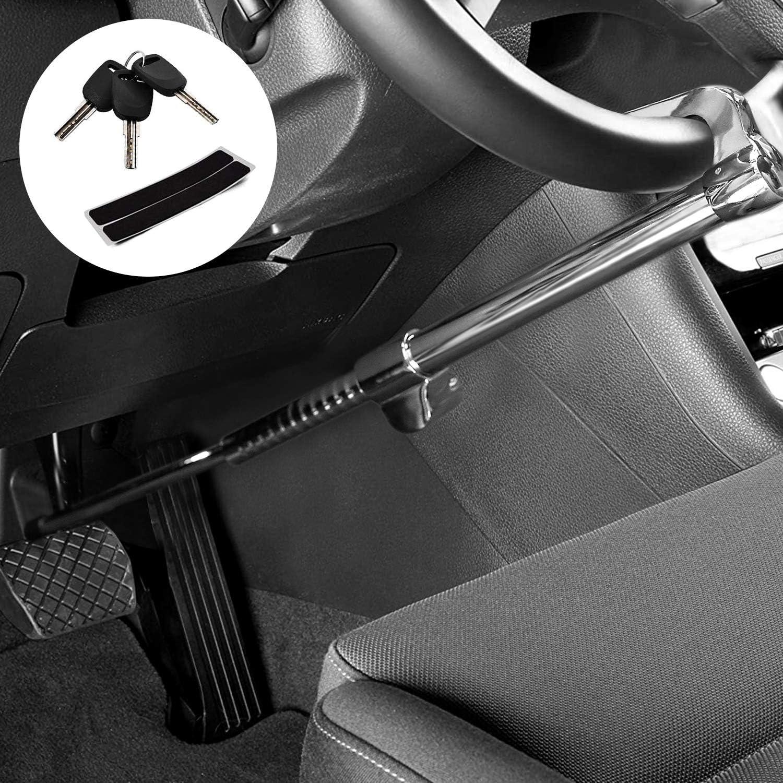 Car Steering Wheel Anti-Theft Lock Car SUV Van Security Device Clutch Brake Lock