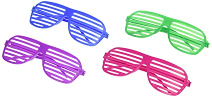 Fun Express 12 Star Shaped Shutter Shading Sunglasses AhlDJ5IZNq