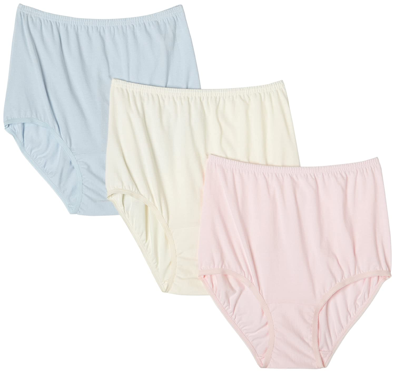 Vanity Fair Womens Perfectly Yours Classic Cotton Brief Panty