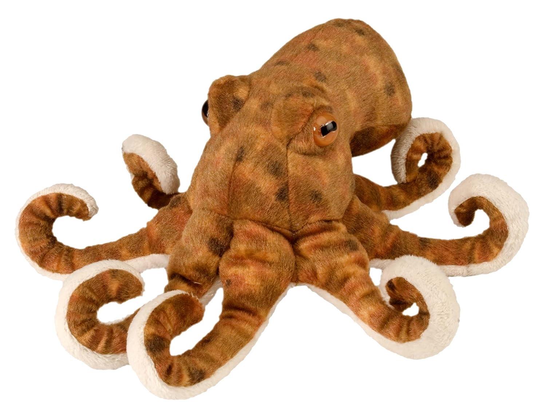 Wild Republic Plüsch Oktopus, Cuddlekins Kuscheltier, Plüschtier ...