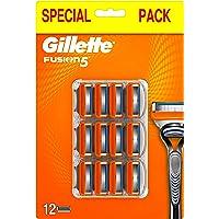 Gilette Fusion5 scheermesjes voor mannen, 12 stuks