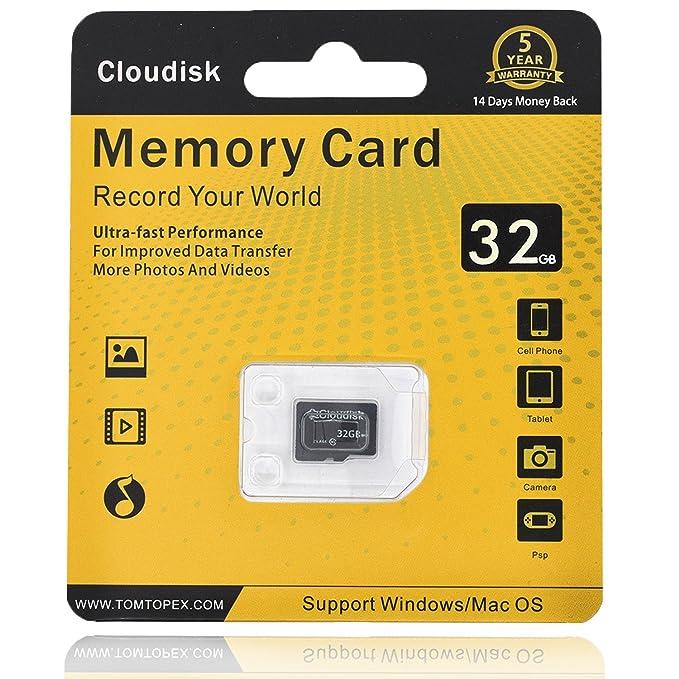 Cloudisk Tarjeta de Memoria 32 GB Micro SD Tarjetas Extreme ...
