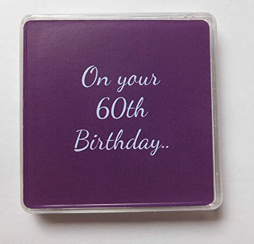 Gorgeous Personalized 60th Birthday Gifts For Her: Womens 60th Birthday Gift, 60th Birthday Gift For Her