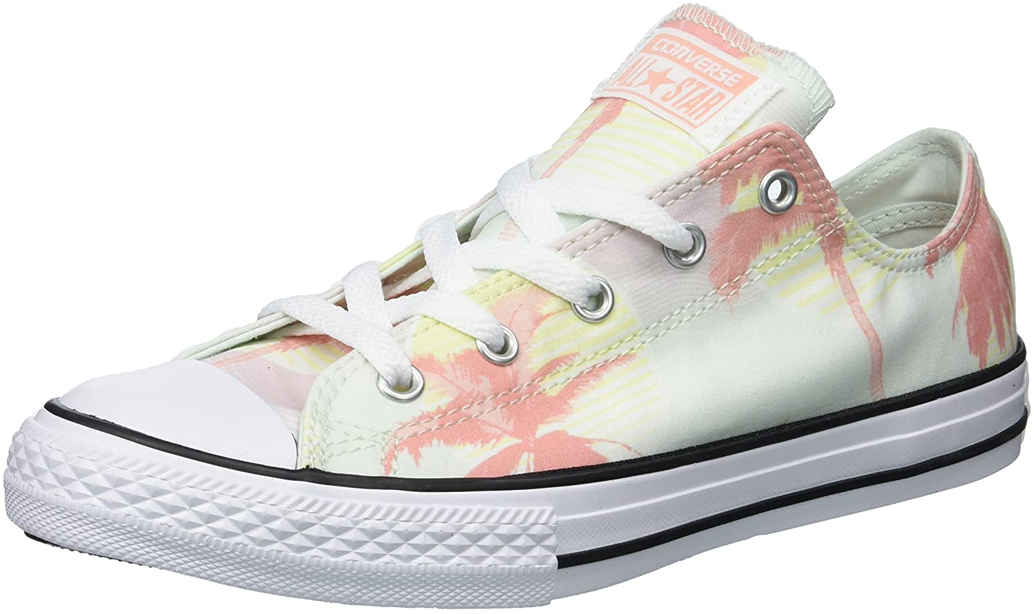 e3bc477710c9 Converse kids chuck taylor all star palm trees low top sneaker sneakers jpg  1500x891 Lime green
