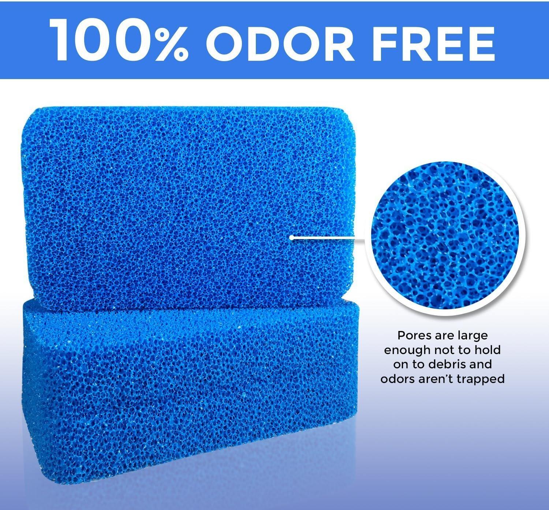 | Modernas Esponjas para Cocina y Platos 100/% Resistentes al Moho y Bacterias! Esponja Antimicrobiana para Platos de Silicona de Smith Cantidad: 3, Color: Amarillo, Rosa, Azul