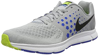 13b55178851e NIKE New Men s Air Zoom Span Running Shoe Grey Hyper Cobalt 9.5