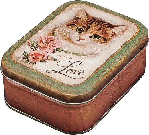 Elite Gift Boxes – Caja rectangular PM Nostalgie with Love Cat ...