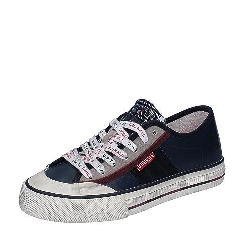 D.A.T.E. Date Sneakers Donna Pelle Camoscio (35 EU, Grigio/Marrone)