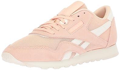 Reebok Women s CL Nylon Mesh M Walking Shoe 66ce8a159ed72