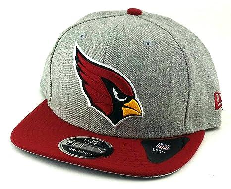 size 40 bd384 14f59 ... get arizona cardinals az new era 9fifty nfl heather action gray red snapback  hat cap 1ad89