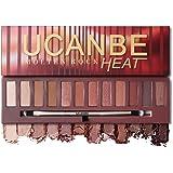Red Eyeshadow Palette 12 Colors Matte & Shimmer Eye shadow Longlasting Waterproof Cosmetic Makeup kit
