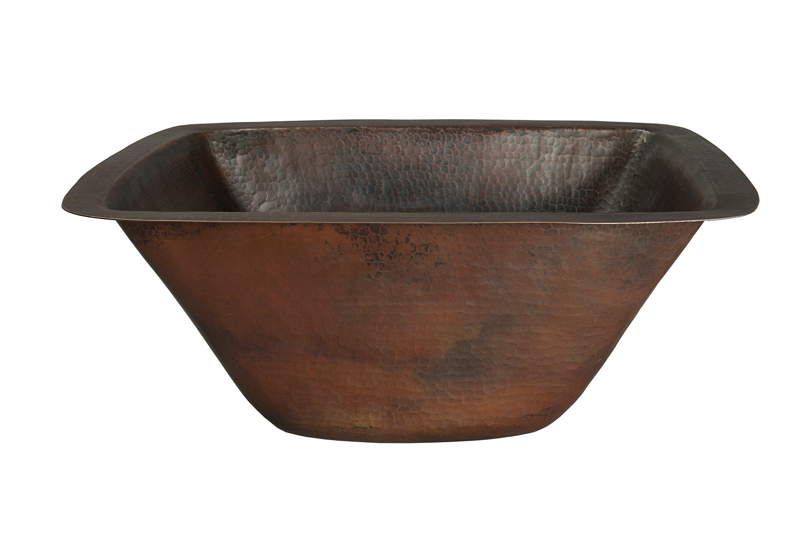 Novatto CORDOBA Copper Bar Sink, Antique by Novatto