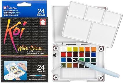 Koi Watercolor Field Sketch Bx 36 Pc Set