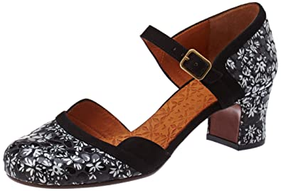840e456c41e4 Chie Mihara Women s Trompeta Ankle Strap Heels  Amazon.co.uk  Shoes ...