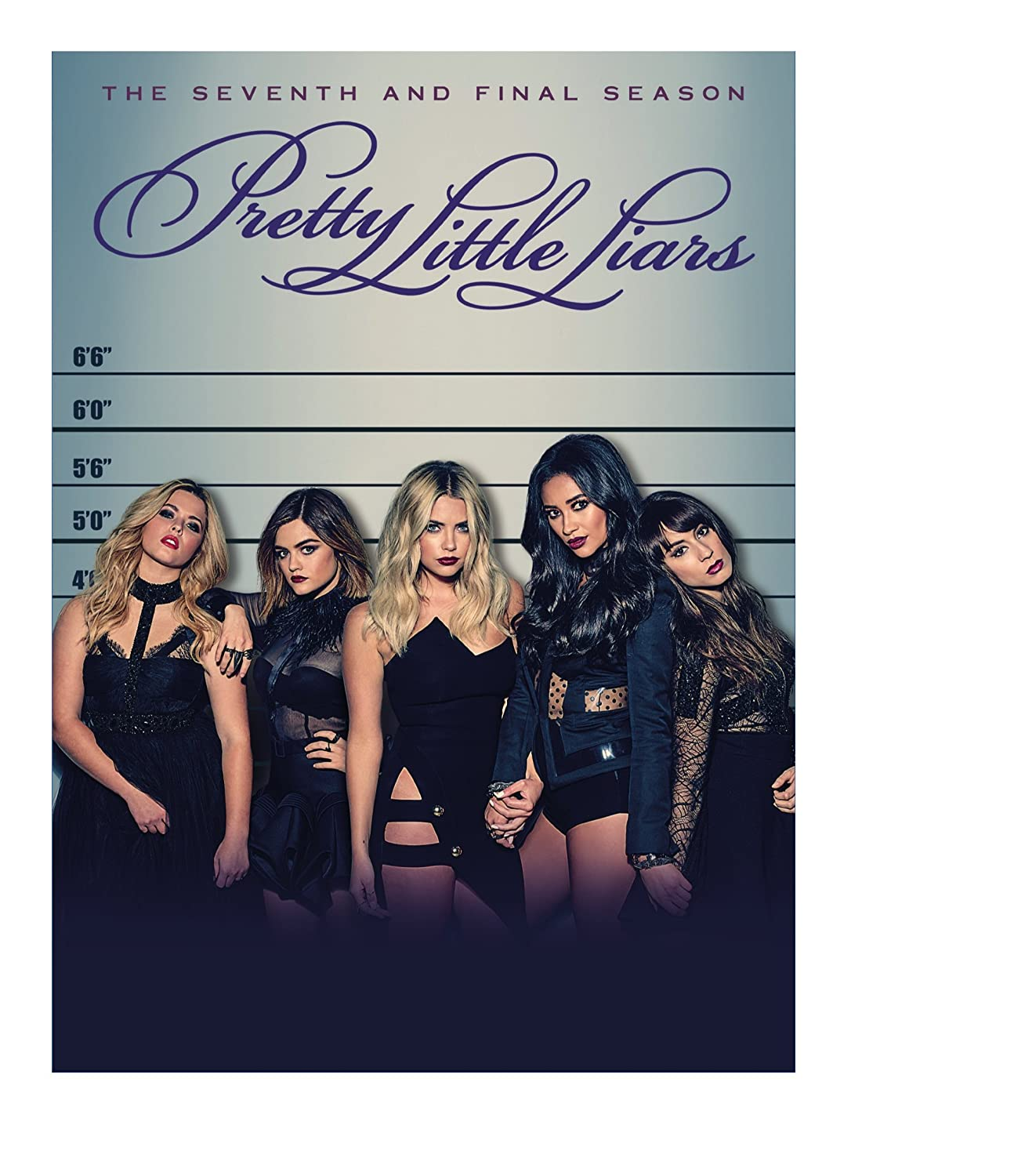 Amazon Com Pretty Little Liars The Complete Seventh Final Season Troian Bellisario Ashley Benson Tyler Blackburn Lucy Hale Ian Harding Shay Mitchell Andrea Parker Janel Parrish Sasha Pieterse Sara Shepard I Marlene