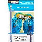 Papel Fotográfico, Inkjet, Glossy, 180g, Masterprint, Multicor, A4, Pacote de 20