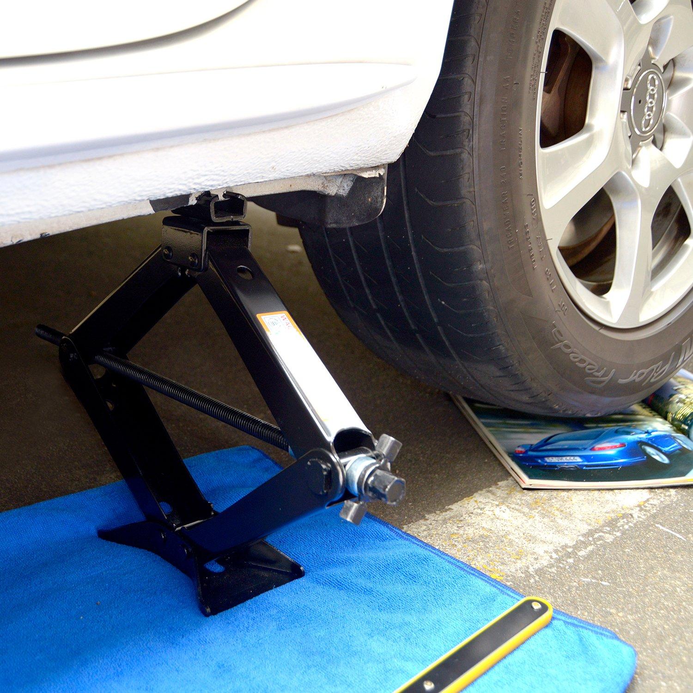 4,409 lbs LEAD BRAND Scissor Jack 2 Tons Capacity Saving Strength Design VA005