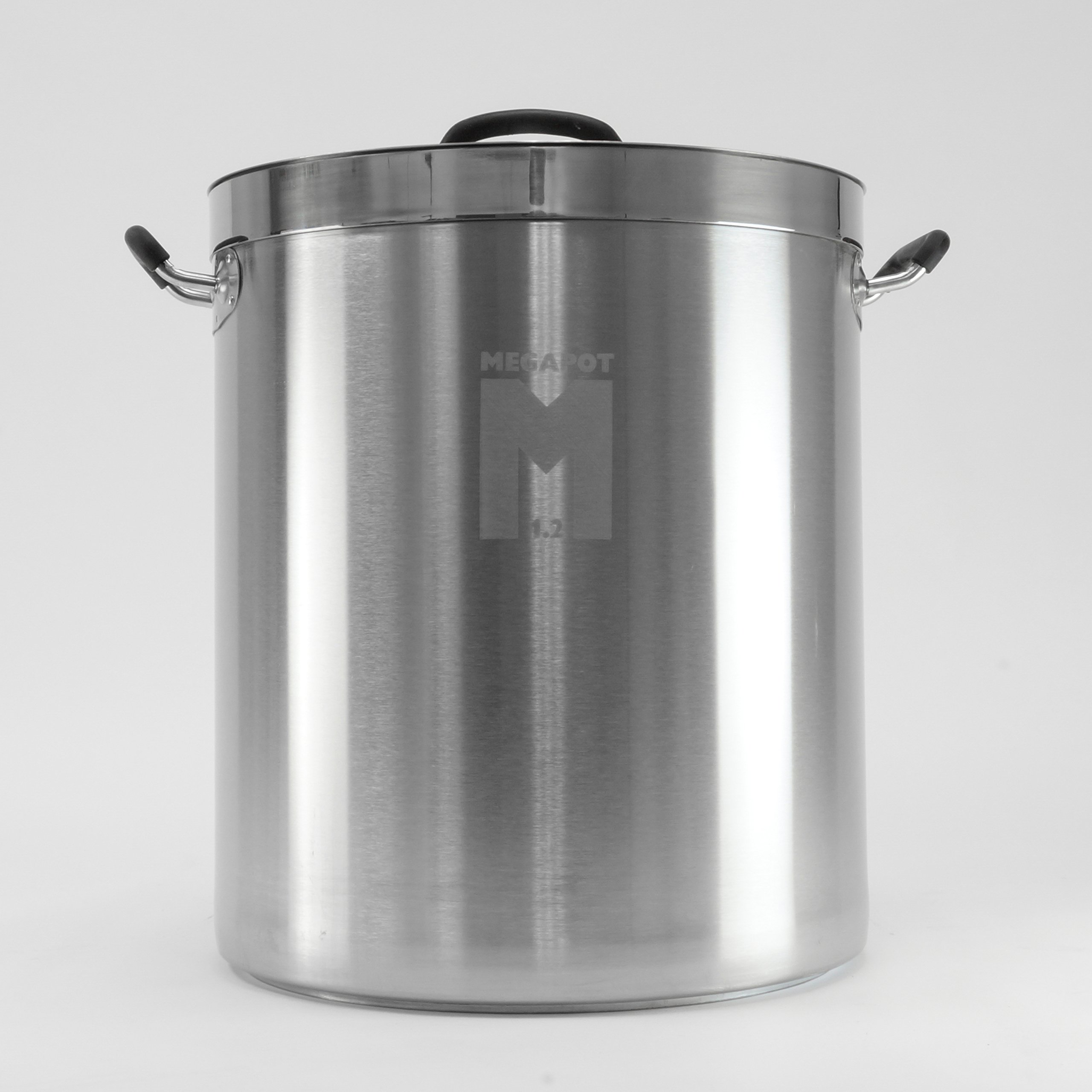 Brew Kettle: Stainless Steel Stock Pot for Homebrew (Plain Kettle, 15 Gallon)