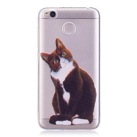Mosoris Funda Xiaomi Redmi 4X Carcasa, Suave Transparente ...
