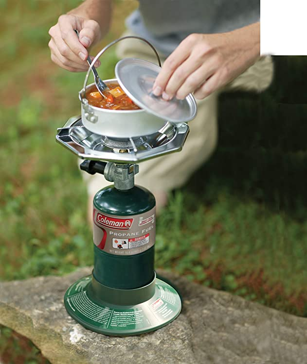 Coleman Bottle Top Propane Stove,Green