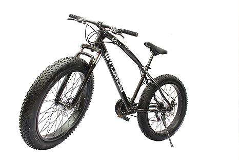 Buy Sturdy Bikes Fat Mountain Bike With 26x4 Inch Tires Black