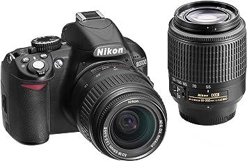 Amazon Com Nikon D3100 14 2 Mp Camara Reflex Digital Camera Photo