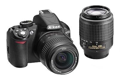 Nikon D3100 14.2MP Digital SLR Double-Zoom Lens Kit with 18-55mm and  sc 1 st  Amazon.com & Amazon.com : Nikon D3100 14.2MP Digital SLR Double-Zoom Lens Kit ...