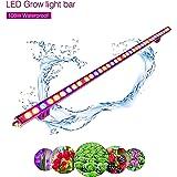 Roleadro 108W IP65 Led Lampe de Croissance Grow Light Strip pour Floraison et Culture Plante Interieur Imperméable 115cm