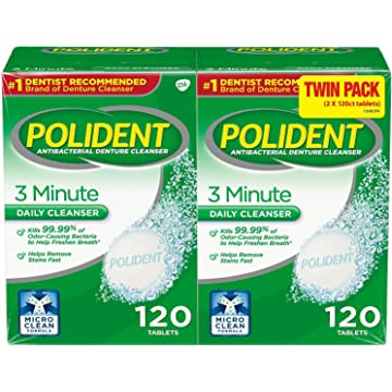 top best Polident 3-Minute
