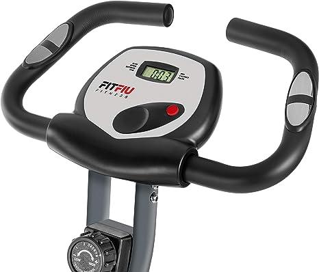 FITFIU Fitness BEST-220 - Bicicleta Estática Spinning plegable con ...