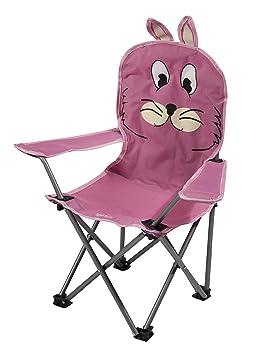 Regatta del Cabrito Animal Silla de Camping Rosa Rabbit Pink ...