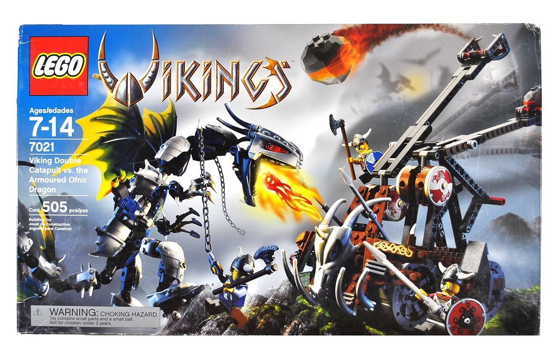Amazon Lego Vikings Set 7021 Double Catapult Versus The