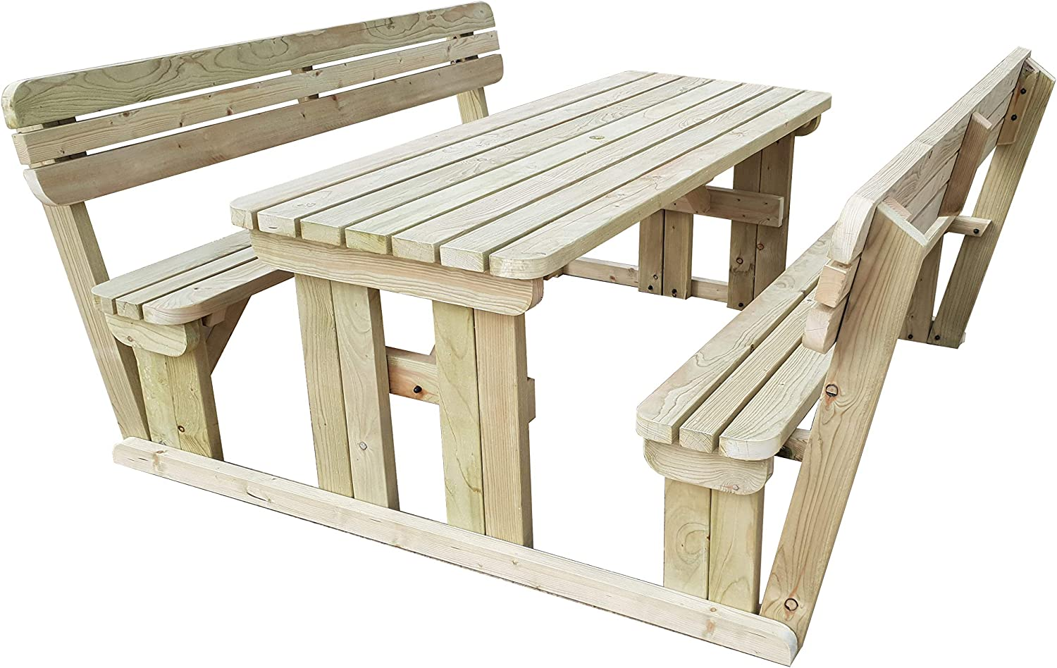 Handmade Outdoor Furniture From Wood 4FT to 8FT ABIES Picnic Table Bench
