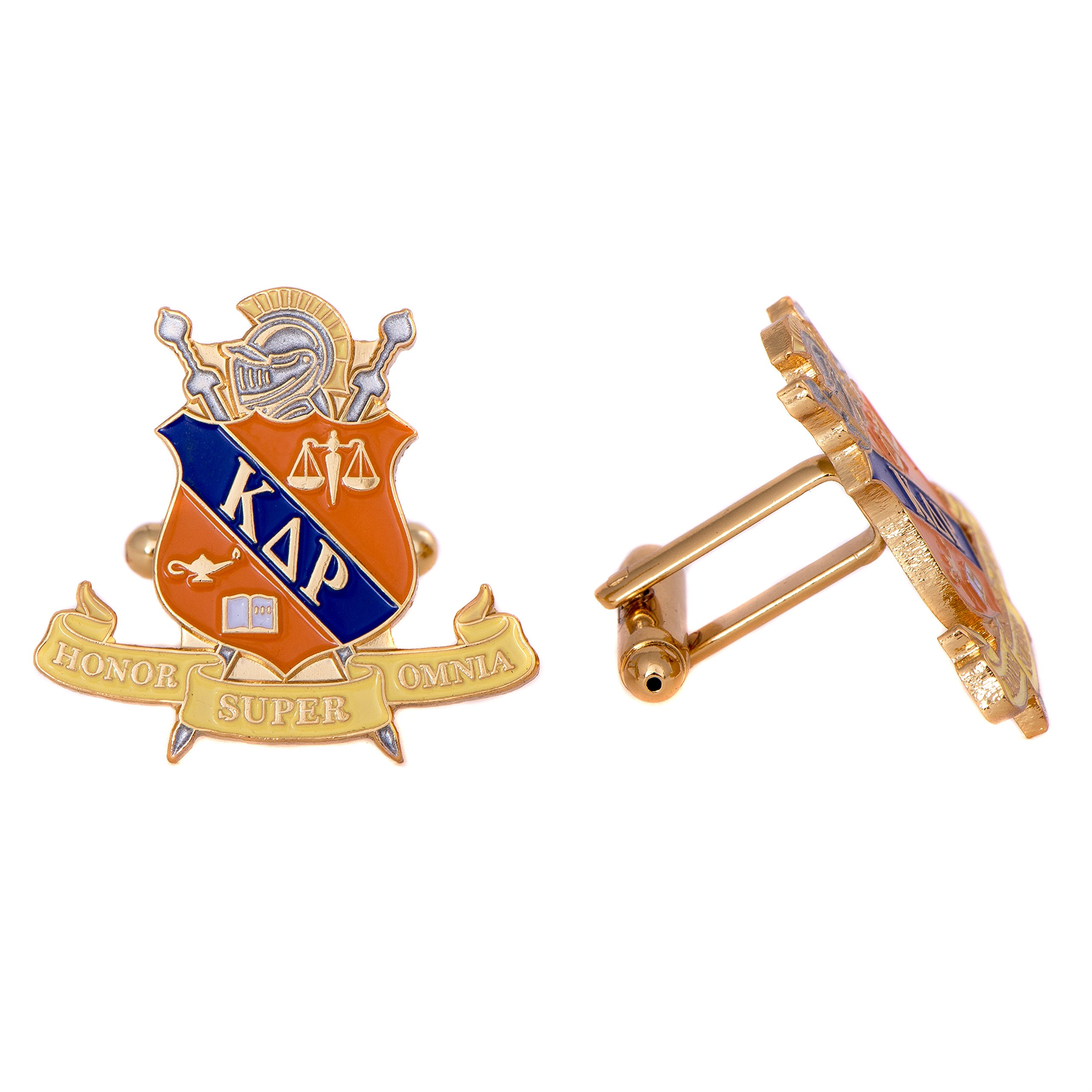 Desert Cactus Kappa Delta Rho Fraternity Crest Cufflinks Greek Formal Wear Blazer Jacket KDR