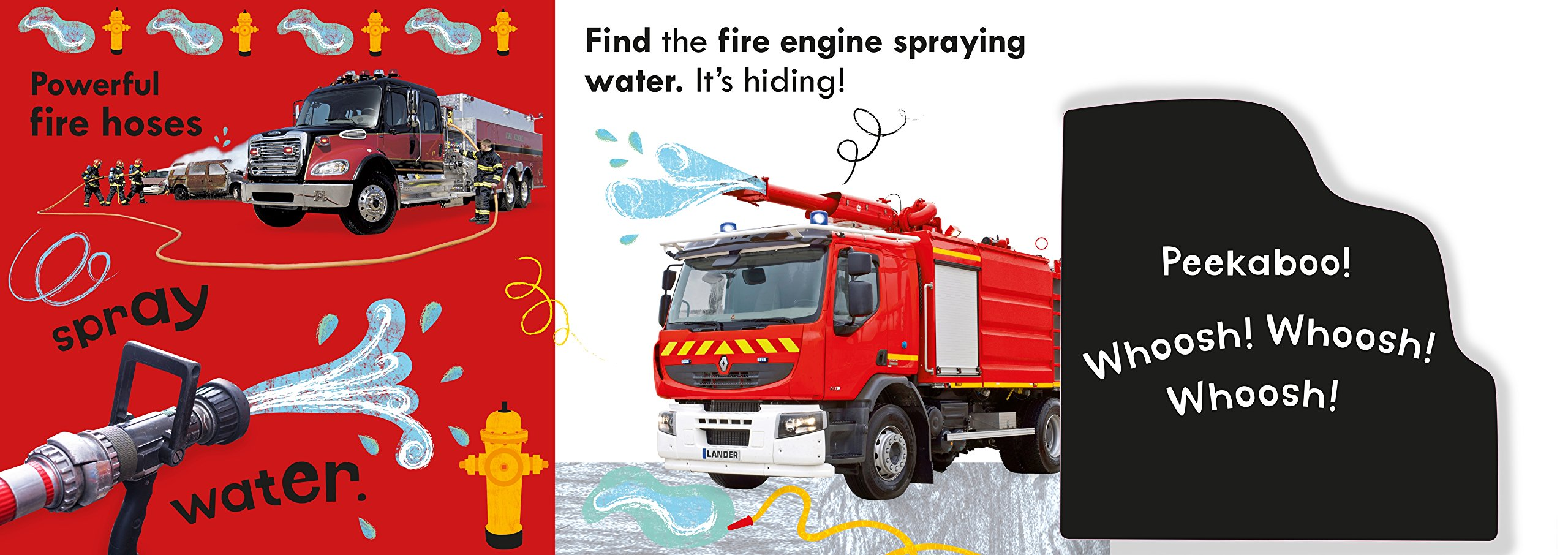 Noisy Fire Engine Peekaboo! by DK Children (Image #6)