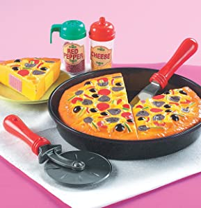 Small World Toys Living - My-Oh-My Pizza Pie 11 Pc. Playset